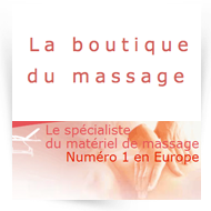 Boutique du massage